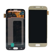 Super Amoled LCD Display For SAMSUNG Galaxy S6 G920 SM-G920F G920F G920FD Touch Screen Digitizer Assembly With Free Gift(China)