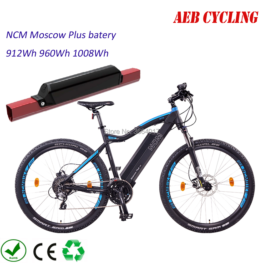 NCM Moscow Plus Bike Replacement Battery Reention Dorado ID-Max 1000w 750w 500w 48V 21Ah 20Ah 19Ah 36V 28Ah/25Ah Battery  Pack