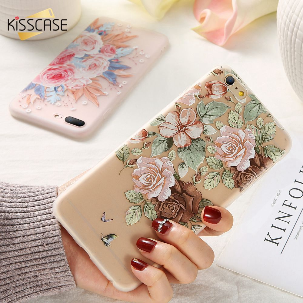 KISSCASE Flower Girly Case For Huawei P20 Mate 20 P30 Lite Pro P10 Soft TPU Phone 10 9 Cover