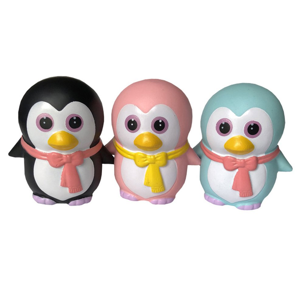 Мягкий медленный отскок Пингвин животное игрушка медленный отскок Пингвин животное моделирование модель высвобождение давления игрушка