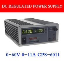 CPS 6011 דיוק PFC קומפקטי מתכוונן מתג DC Power Supply OVP / OCP / OTP 220V 0.01V / 0.01A מעבדה אספקת חשמל