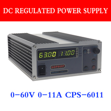 Cps 6011 精度 pfc コンパクトアジャスタブルスイッチ dc 電源 ovp/ocp/otp 220 v 0.01 v/0.01A ラボ電源