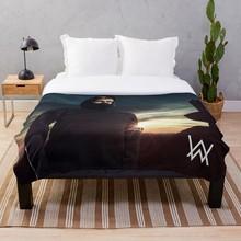 Alan Walker Throw Blanket Soft Sherpa Blanket Bed Sheet Single Knee Blanket Office Nap Blanket alan walker bergen
