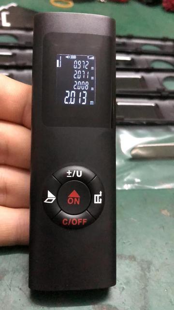 Купить лазерный дальномер 40 м лазерная рулетка строительный измерительный картинки цена