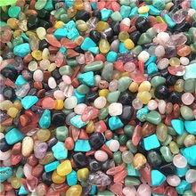 Farbe kristall chips Gemischt Quarz Kristall Stein fiel stein Sonde stein und mineralien