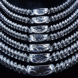 Image 5 - Southwestern National Wind Alloy Silver Plated Seven Layer Thread Womens Collar Festival Performance Accessories Female Jewelry