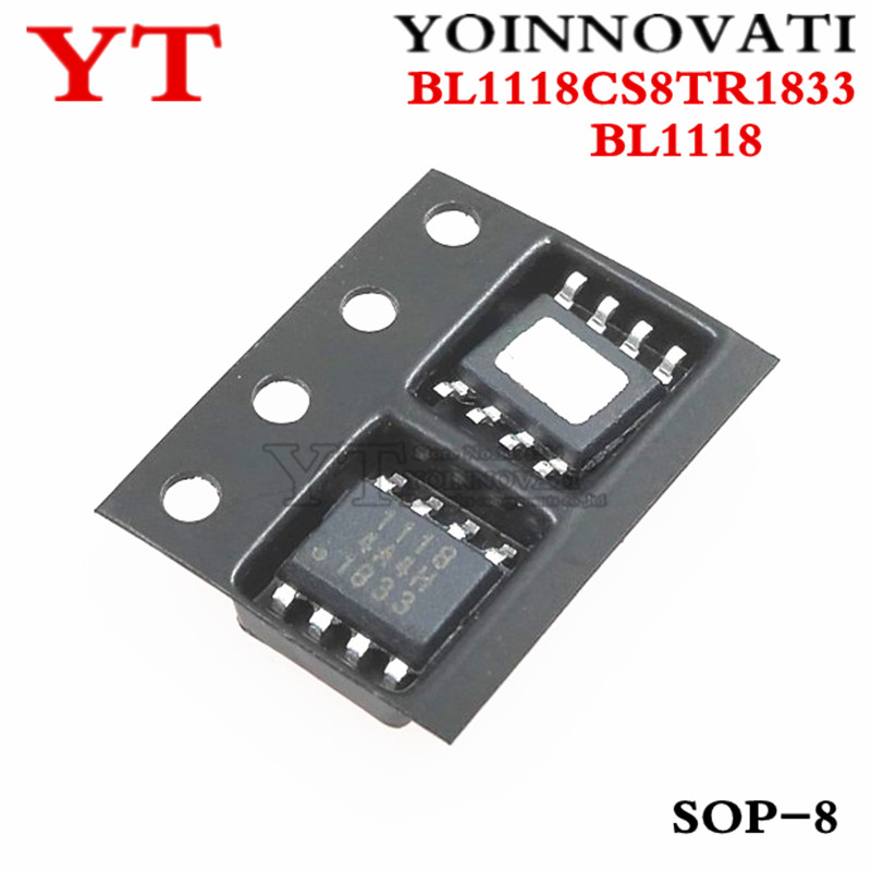 10pcs/lot BL1118CS8TR1833 BL1118 1118 SOP8  IC Best Quality