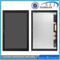 Para sony xperia tablet z4 sgp771 sgp712 display lcd de tela toque digitador assembléia painel substituição para sony tablet z4 lcd Painéis e LCDs p/ tablet     -