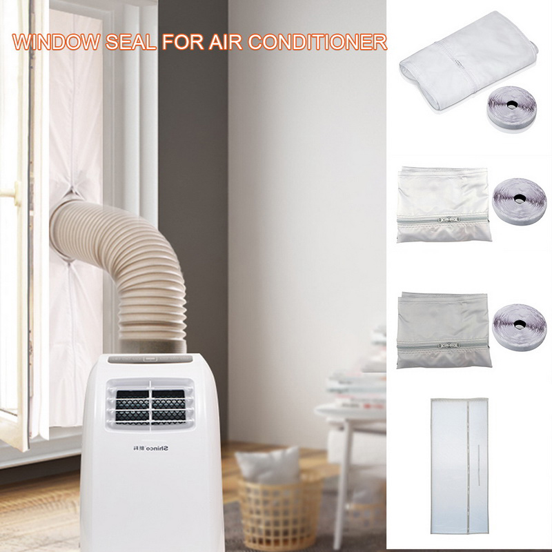 3m/4m/5.6m Window AirLock Seal Plate Air Conditioner Cover Soft Baffle Window Seal For All Mobile Air Conditioning Units