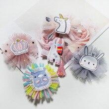 Hair-Clip Headdress Unicorn Rabbit-Paper Little-Girl Princess Cute And Cartoon Lionet