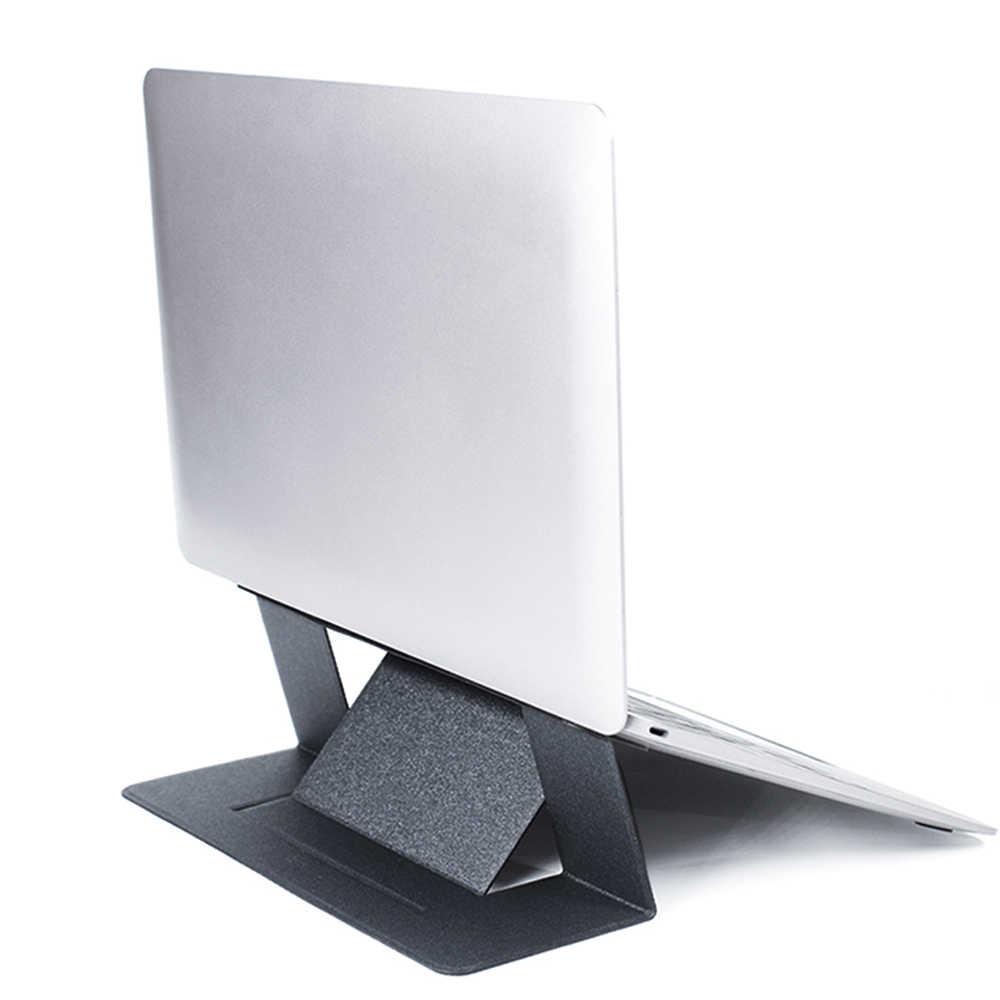 العالمي للطي دفتر الوقوف ل ماك بوك جميع الكمبيوتر المحمول حامل قابل للتعديل قوس المحمولة اللوحي دعم