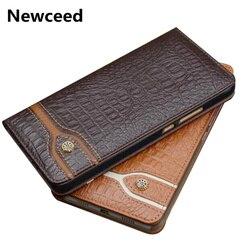 На Алиэкспресс купить чехол для смартфона business style genuine real leather magnetic case funda for htc u19e/htc desire 19 plus flip case leather cover standing capa