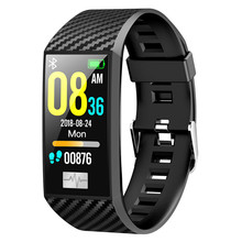 New DT58 Waterproof Smart Bracelet Fitness ECG Heart Rate Blood Pressure Monitor Tracker smart Watch Sports Wristband