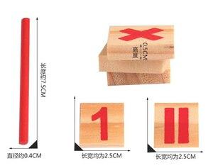 Image 5 - Montessori jouets éducatifs en bois pour enfants, Puzzle pour apprentissage précoce, jeu de comptage de nombres pour enfants, outil denseignement GYH