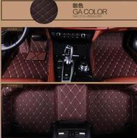 Car Floor Mats Custom Fit For Mercedes Benz ML 350 disel 2010 Car Styling Auto Floor Mat Car Accessory Carpet Cover