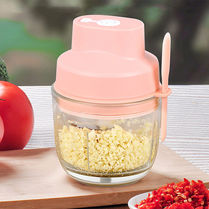 2020 New Nov Mini 100ML/300MLMultifunctional Cordless Vegetable Chopper Meat Grinder Food Cutter USB Rechargeable