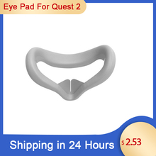 New For Oculus Quest 2 Replacement Face Pad Cushion Face Cover Bracket Protective Mat Eye Pad For Oculus Quest 2 VR Accessories