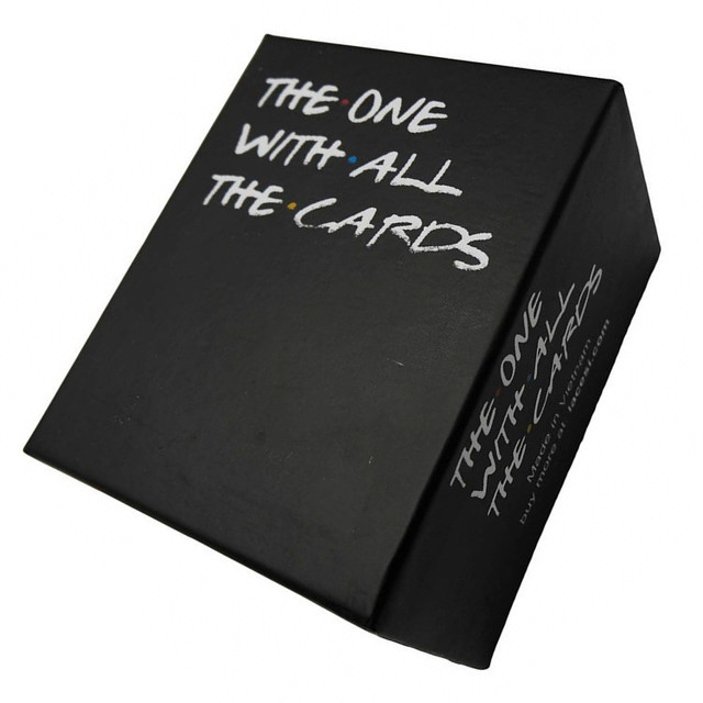 The One With All The Cards All English Cards Against Family Interactive Strategy Board Game