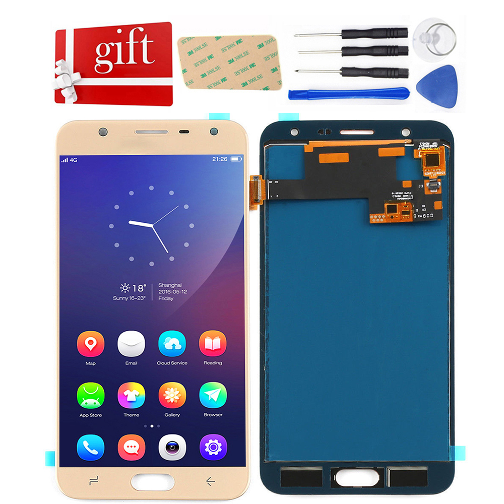 For Samsung Galaxy J7 Duo 2018 <font><b>J720</b></font> <font><b>LCD</b></font> Screen SM-<font><b>J720</b></font> J720F Display + Touch Screen Digitizer glass Assembly Replacement image