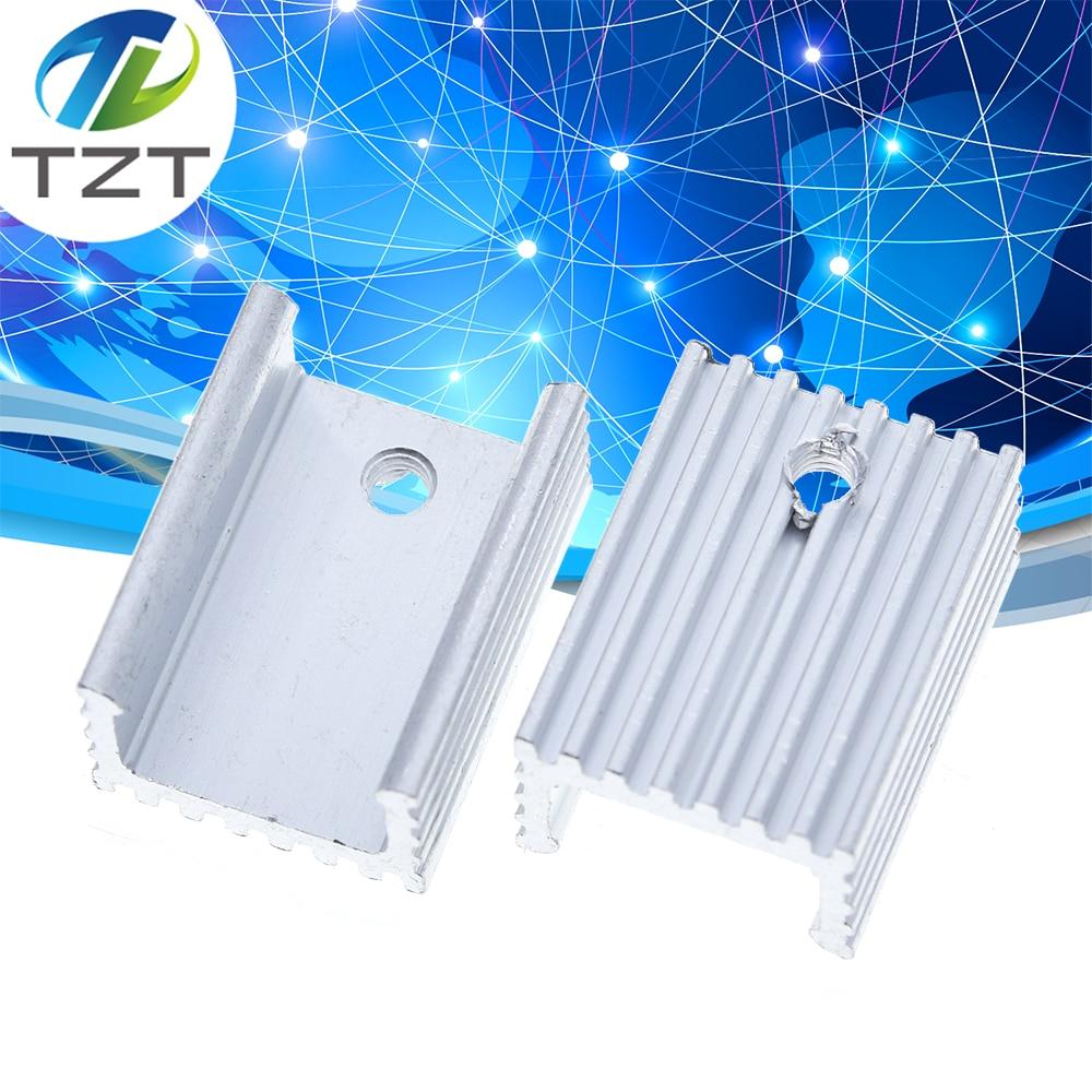 10 шт., теплоотвод из алюминия до 220, радиатор с транзистором 220, Охлаждающий радиатор TO220, 20*15*10 мм