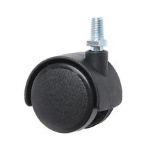 8PCS Wholesale Universal Wheels 50MM Caster Screw Furniture Electrical Casters Office Chair Silent Wheel
