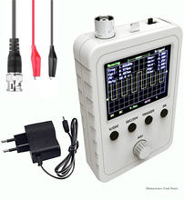 DSO150 Shell Oscilloscope Kit Updated 2.4-Inch Tft Digital Oscillator Kit with Power Supply and Bnc-Clip Cable Probe Q15001 New