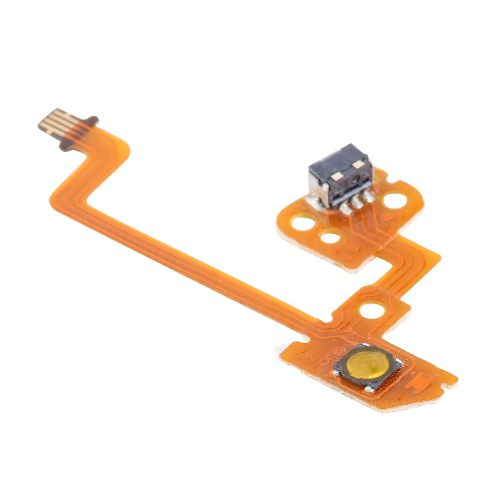 Replacement L Left/Right Rail Button Key Flex Ribbon Cable For Nintend Switch Joy-Con Controller Trigger Buttons Cable For NS