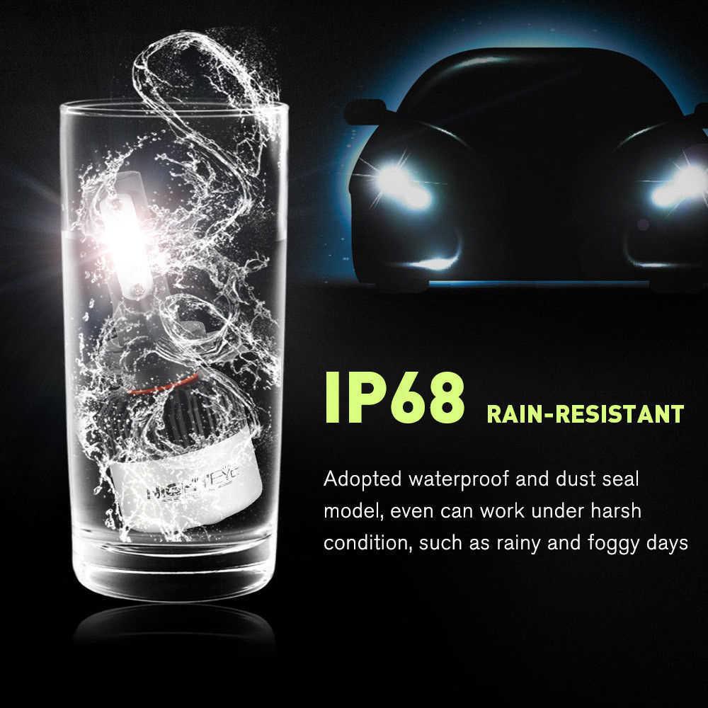 Авто-Стайлинг H7 светодиодный h4 H1 h11 светодиодный автомобилей головной светильник 72W фары для 9000LM 6500 к автомобильный светильник светодиодный головной светильник авто лампы 2018 новое поступление