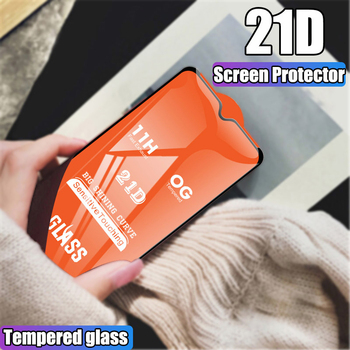 100Pcs 21D 11H Full Cover Screen Protector Glass For Xiaomi Redmi Note 9S 9 Pro Max Redmi Note 8 Pro 7 6 5 Tempered Glass Film
