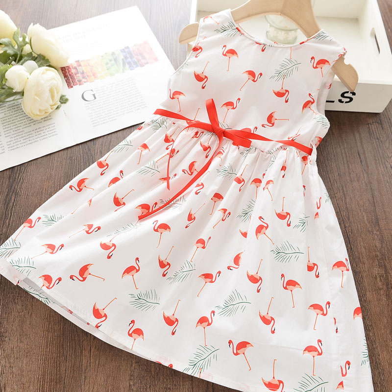 Menoea Girls Dresses 2020 Summer Style Children Sleeveless Costume Girl Butterfly Clothes Kids Dress For Girls Pricess Dresses