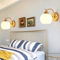 Led lâmpada de parede moderno e minimalista quarto lâmpada de cabeceira criativo sala estar lâmpada escada