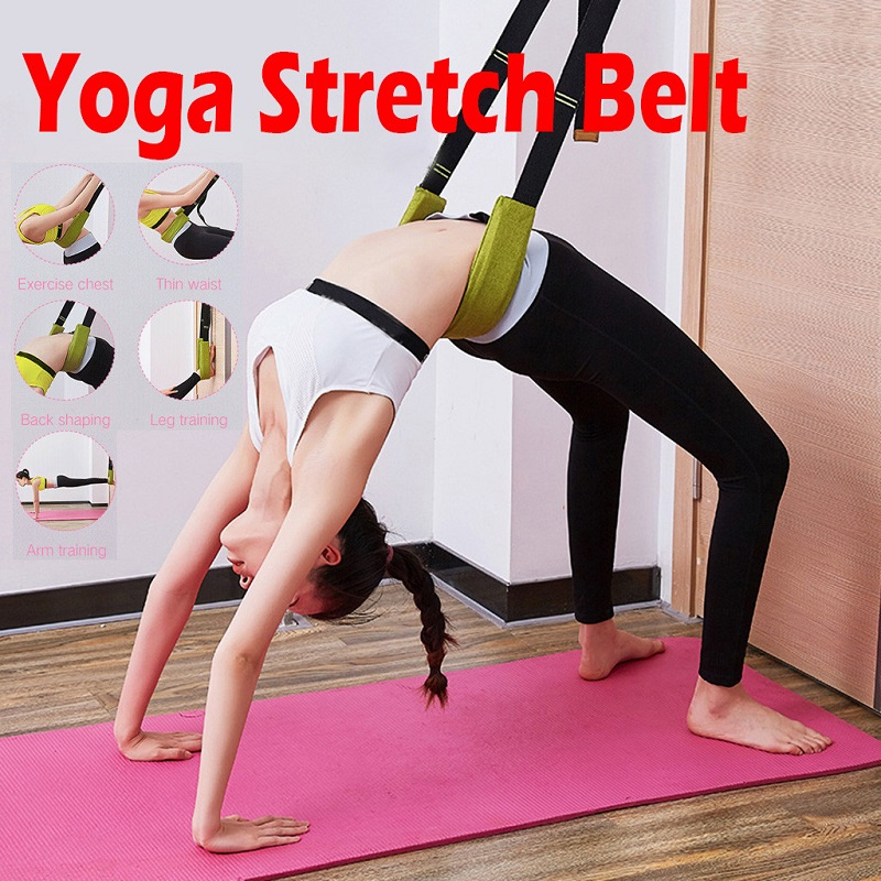 Flexibility Stretching Leg Stretcher Strap For Ballet Cheer Dance Gymnastics Trainer Comfort Design Yoga Stretch Belt Yoga