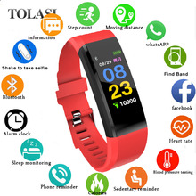 Original IT120 Smart Bracelet Color Screen Sports Band Heart Rate Monitor Fitness Tracker for IOS Android VS ID115 PLUS Y5
