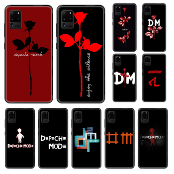 Band Depeches Phone case For Samsung Galaxy S 3 4 5 6 7 8 9 10 E Plus Lite Edge black art funda soft bumper luxury Etui tpu image
