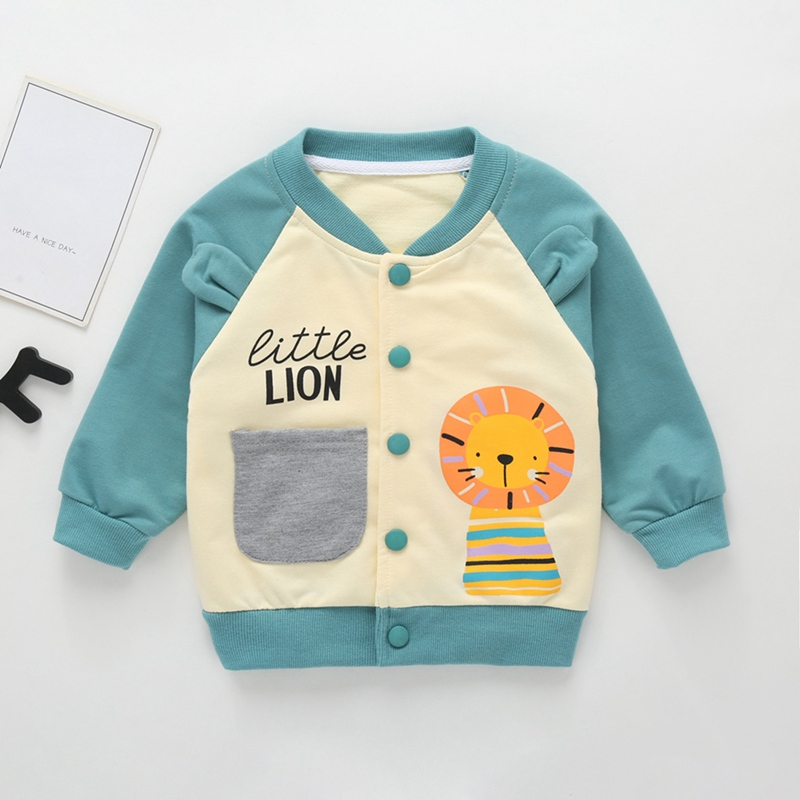 US Toddler Kids Baby Autumn S-2XL Knitted Sweater Boy Girl Outwear Cardigan Coat