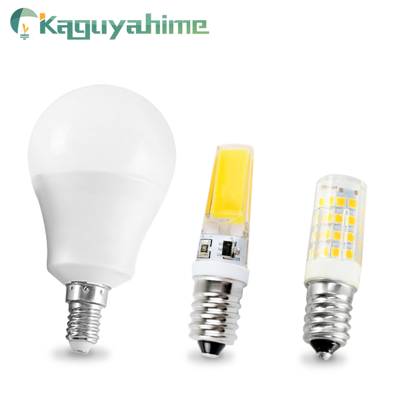 Kaguyahime E14 LED Bulb 3W 6W 12W LED E14 Lamp AC 220V Light Lampada LED Spotlight Table Lamp Bombilla Candle Lamp For Home