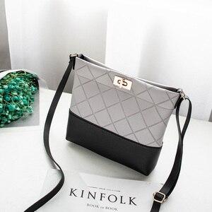 Image 2 - 2020 Diamond Lattice Plaid Bag Mini Hasp Handbag Cross body Bags For Women Ladies Purse High Quality Designer Small Bags Fashion
