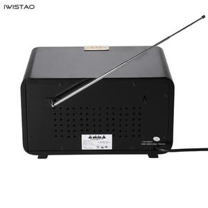 Image 3 - רטרו עץ HIFI רדיו AM/FM 2x5W רמקולים שולחניים רוטרי כוונון תמיכת Bluetooth U דיסק SD כרטיס משחק