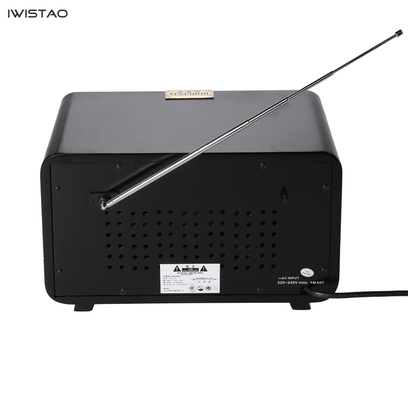 Image 3 - Retro Wooden HIFI Radio AM/FM 2x5W Desktop Speakers Rotary Tuning Support Bluetooth U Disk SD Card PlayingRadio   -