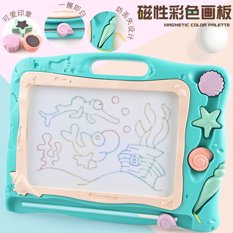 Large Size Children Magnetic Drawing Board Toy Kindergarten Baby Early Childhood Learning Writing Board Doodle Board