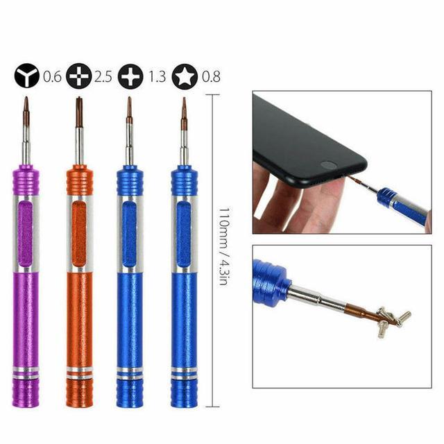 20 in 1 Mobile Phone Repair Tools Cell Phone Opening Pry Repair Kits Screwdriver Set for Samsung Xiaomi iPhone Repair Tool Kit 6