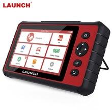 LAUNCH – outil de Diagnostic automobile CRP909C, Scanner professionnel, système complet de réinitialisation du moteur, Airbag, DPF, ABS, TPMS, OBD2