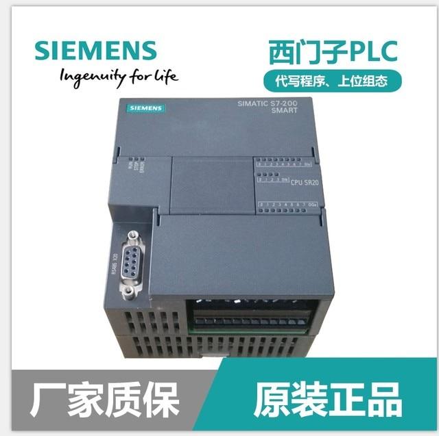 New Original 6ES7 288 1SR20 0AA0 SIMATIC S7 200 SMART PLC, CPU SR20 ST20 SR30 ST30 SR40 ST40 CR40 SR60 ST60 CR60 , AC/DC/RELAY