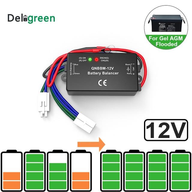 Led 표시기 1S 12V 배터리 이퀄라이저 단일 셀 리드 산 성 배터리 균형 BMS 배터리 젤 홍수 AGM