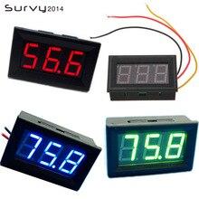 DIY Mini Voltmeter Tester Digital Voltage Test Battery DC 0V-99.9V 3-Wire Family Essential