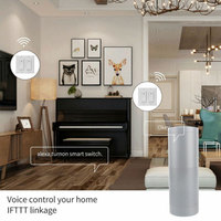 Us Standard Timing APP Remote Touch Panel Smart WIFI Automation Voice Control Accessories Home Wall Switch Light PC For Alexa