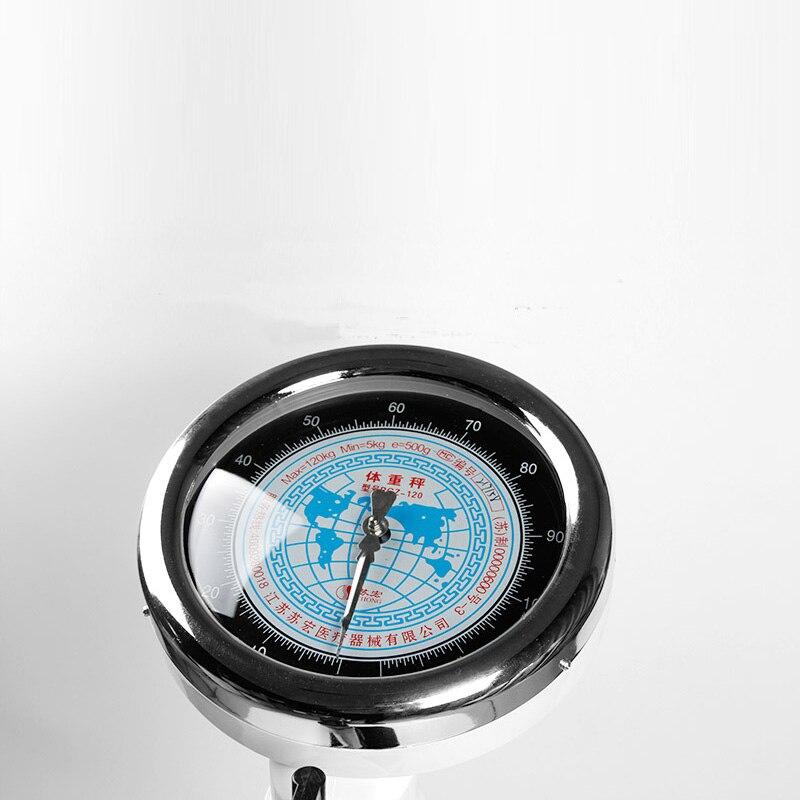 Échelle de poids de taille corporelle Instrument de mesure échelles de sol scolaire hôpital à domicile maternelle enfants balance de poids mécanique - 3