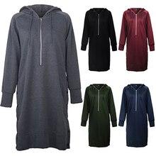 Hoodies Women Female Long Sleeve Solid Color Hooded Sweatshirt Hoodie Tracksuit Sweat Coat Casual Sportswear