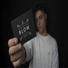 ทำจาก Magic นำเสนอ BLOW โดย Juan Capilla (Gimmick และคำแนะนำออนไลน์) การ์ดเวทมนตร์ภาพลวงตา Close up Magic Props