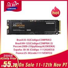 Samsung ssd M.2 M2 ssd 1TB 250GB SSD 500GB 970 Evo Plus HHD Nvme Interne Solid State stick Festplatte 2280 Mlc Pcie für Laptop